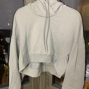 Cropped Y3 Adidas Hoodie